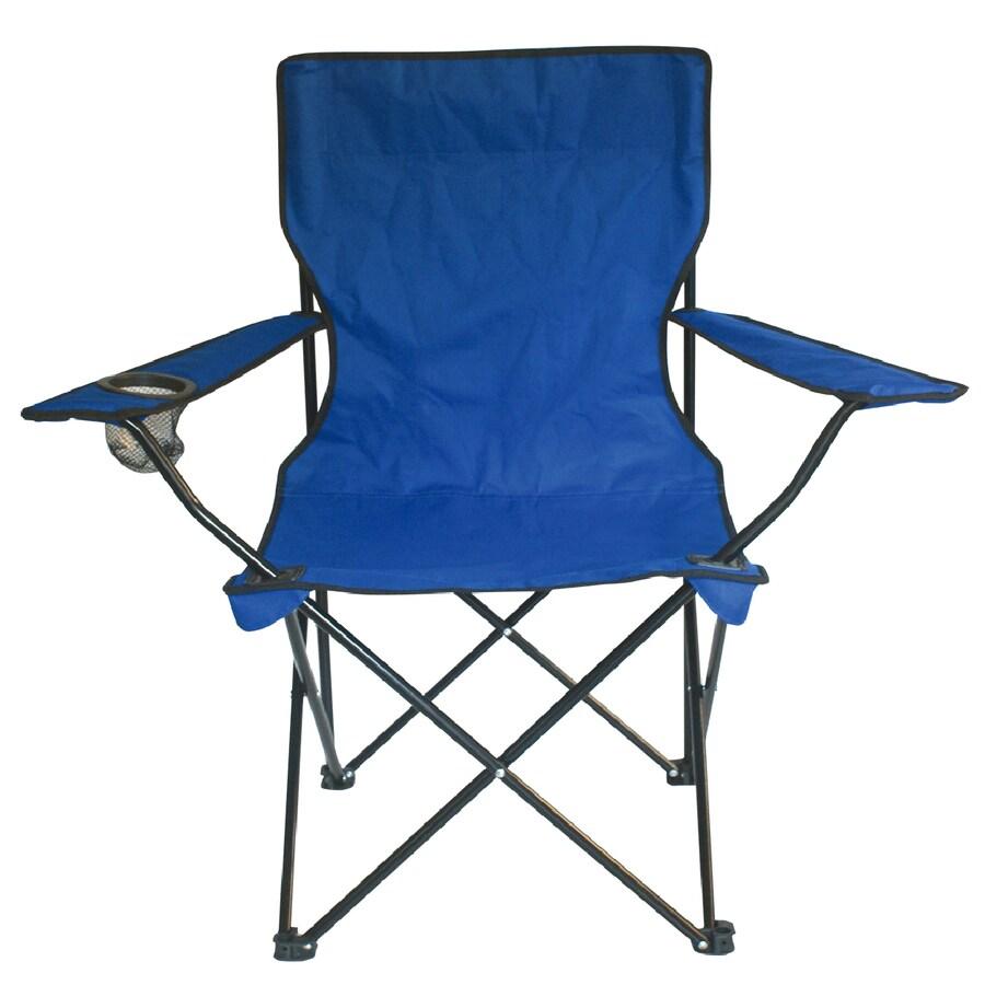 Garden Treasures Blue Steel Chair