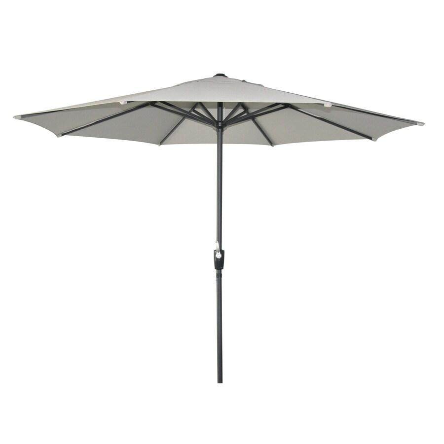 allen + roth Patio Umbrella (Common: 105-in W x 105-in L; Actual: 105-in W x 105-in L)