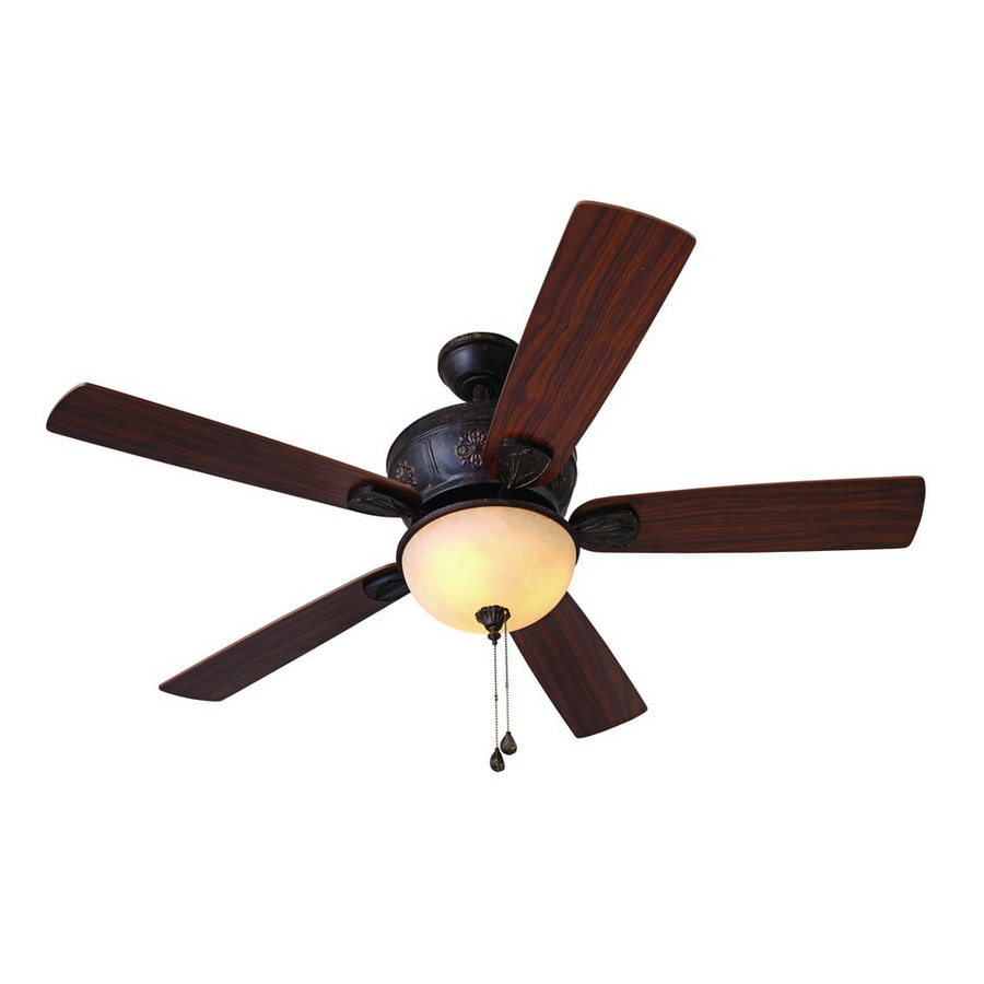 Shop Harbor Breeze 52 In Multi Position Indoor Ceiling Fan With Light Kit At