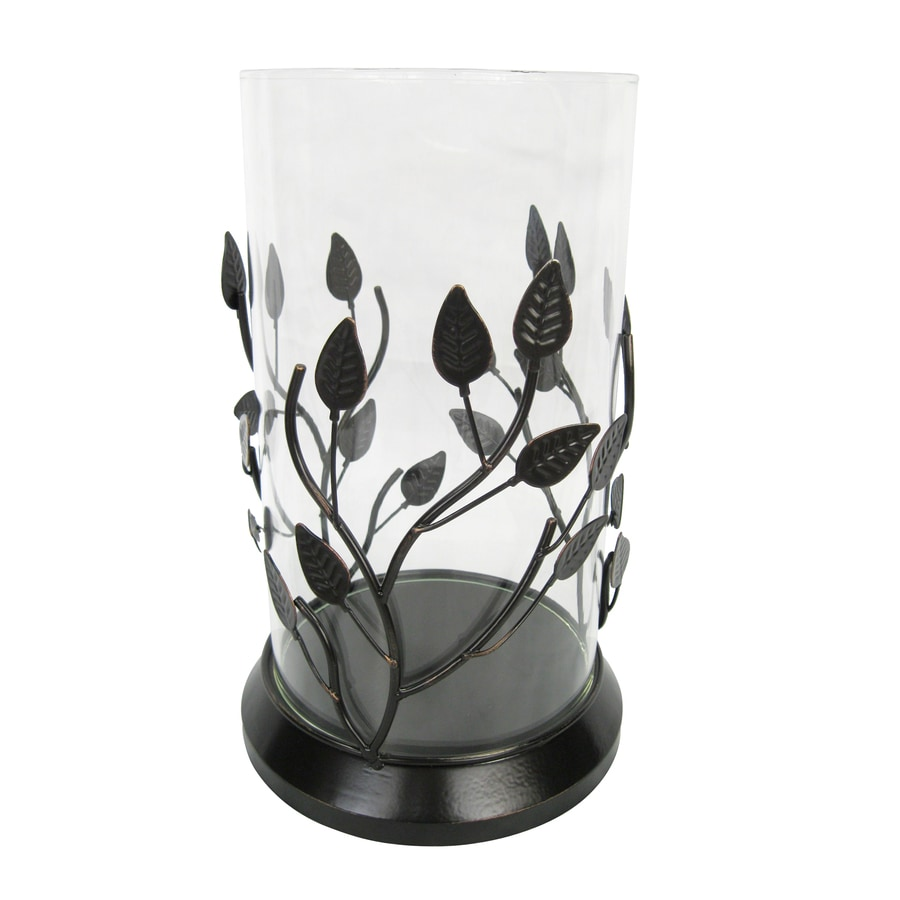 allen + roth Metal with Glass Candle Holder