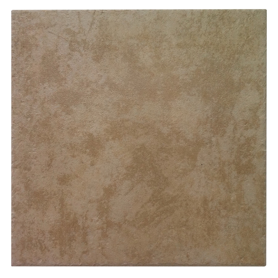 Project Source Lancetti Beige Lancetti Beige/Matte Ceramic Floor Tile (Common: 12-in x 12-in; Actual: 11.82-in x 11.82-in)
