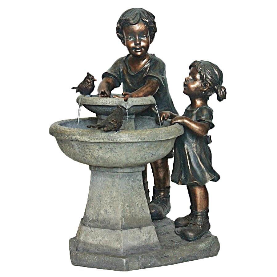 Garden Treasures 27.2-in Resin Statue