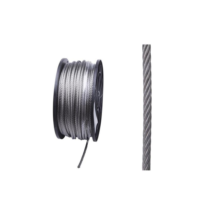 Blue Hawk 1-ft 3/16-in Weldless Polished Stainless Steel Cable (By-the-Foot)