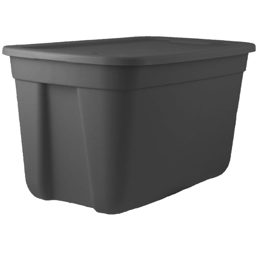 INCREDIBLE Plastics Incredible Plastics 18-Gallon Tote with Standard Snap Lid