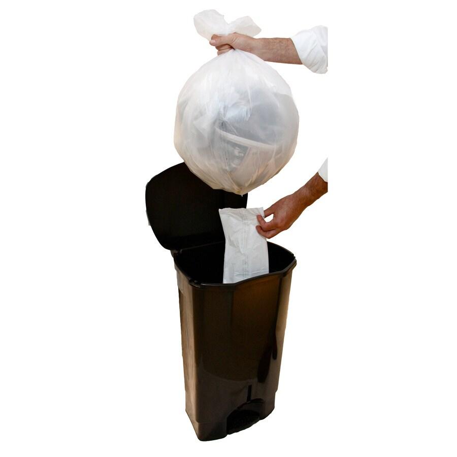 INCREDIBLE Plastics 13-Gallon Trash Can
