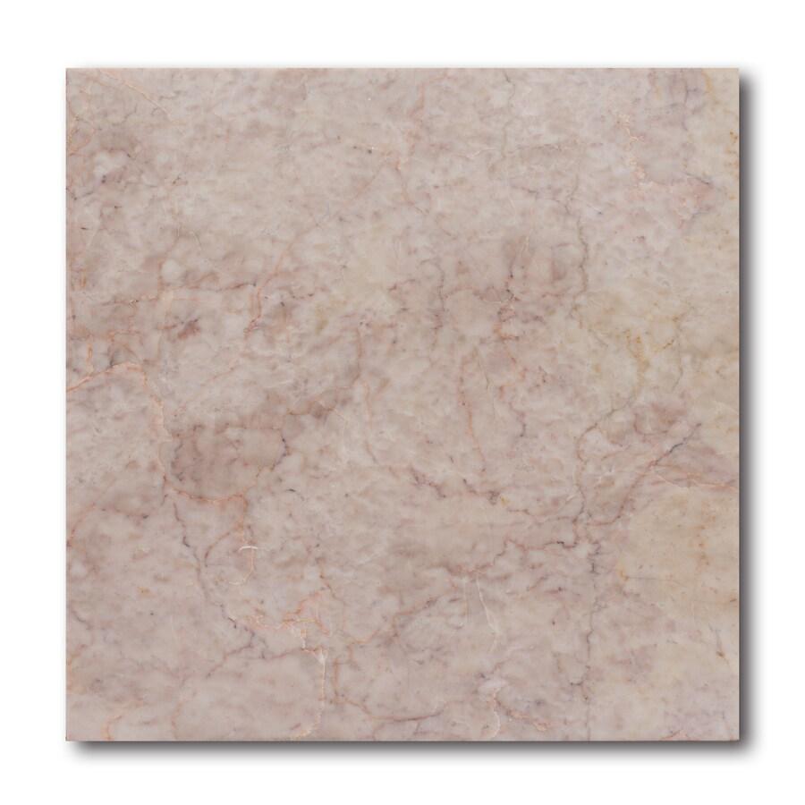 allen + roth 10-Pack Pink Floor Tile (Common: 12-in x 12-in; Actual: 11.97-in x 11.97-in)