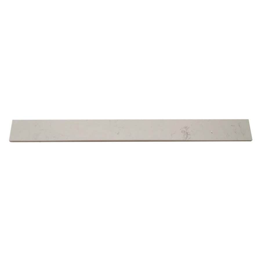 White Composite Threshold Tile (Common: 4-in x 36-in; Actual: 3.9-in x 35.9-in)