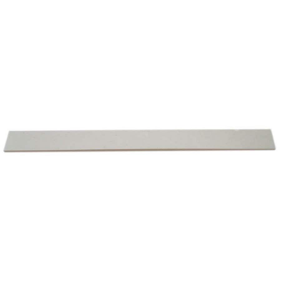 White Composite Sill Tile (Common: 6-in x 73-in; Actual: 5.9-in x 72.9-in)