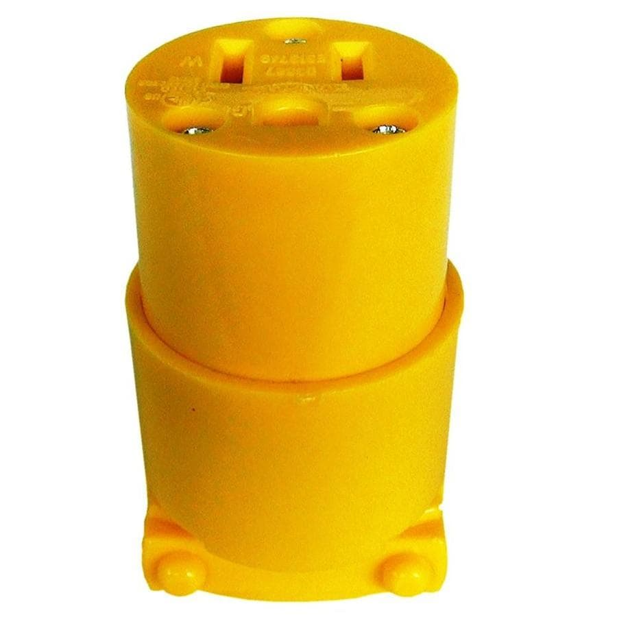 Utilitech 15-Amp 125-Volt Yellow 3-Wire Grounding