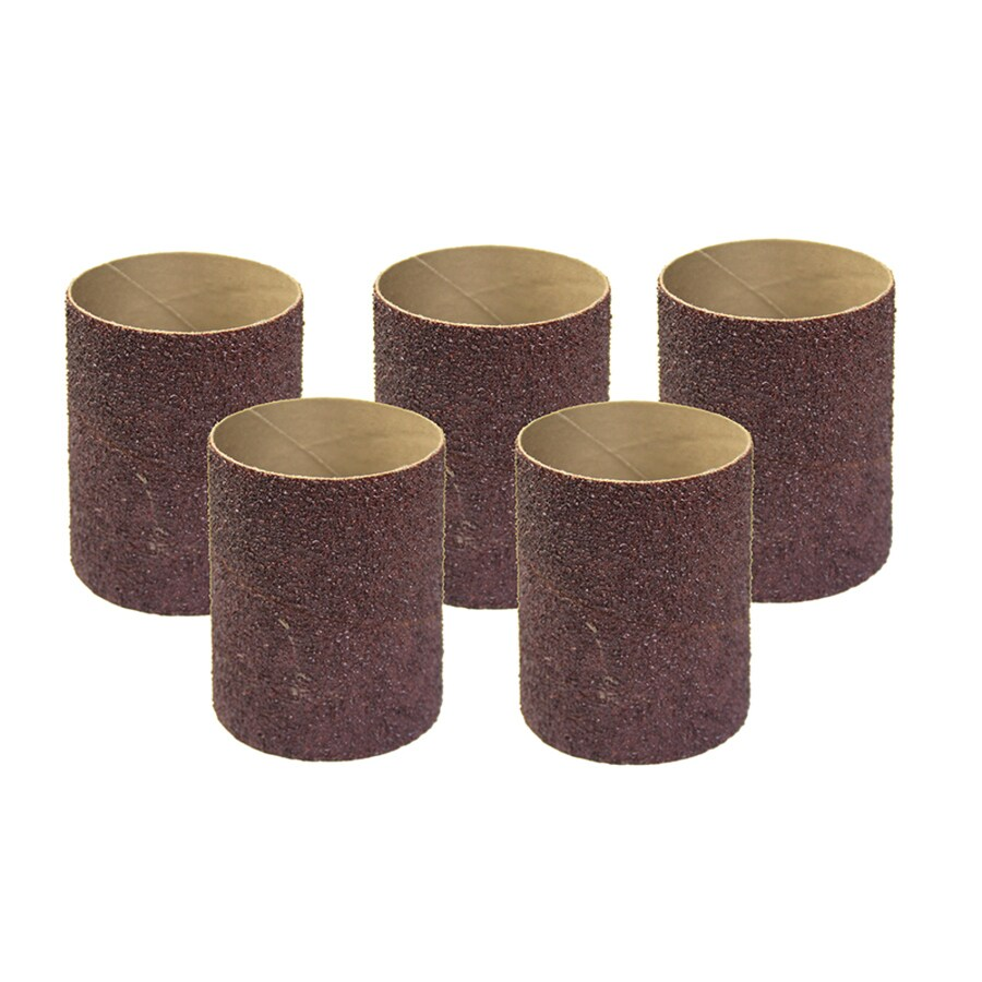 PORTER-CABLE Restorer 5-Pack 2.8125-in W x 4-in L 60-Grit Commercial Spindle Sandpaper