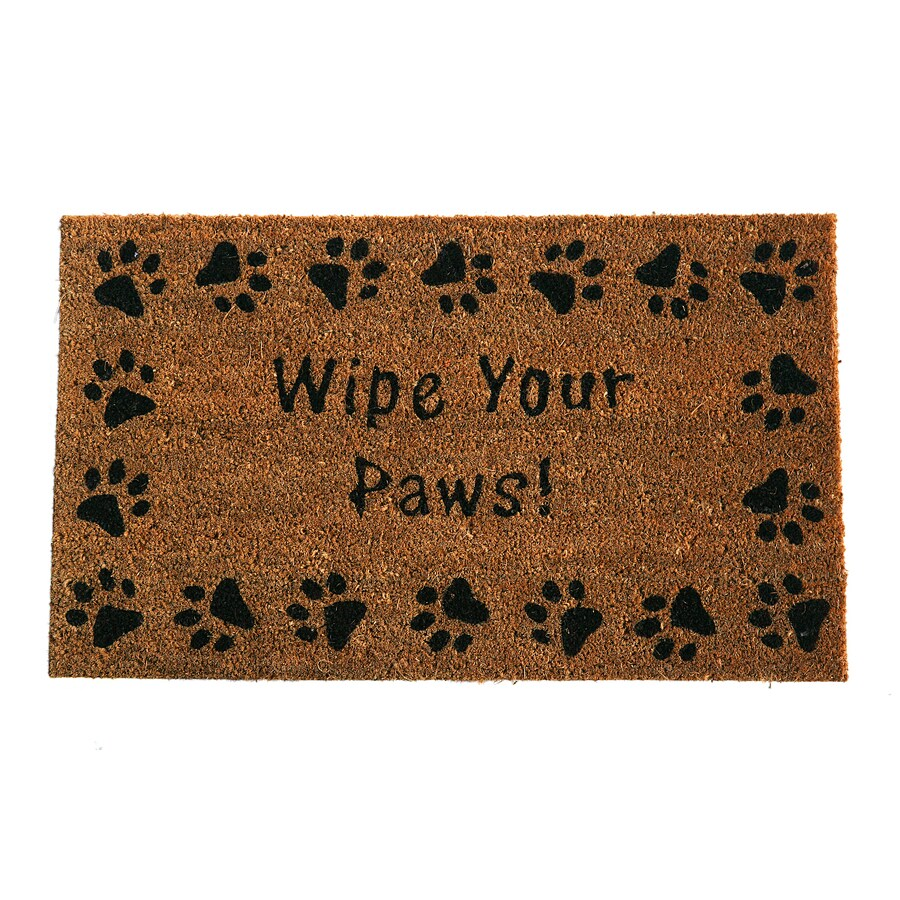 Style Selections Rectangular Door Mat (Common: 18-in x 30-in; Actual: 17.9-in x 29.9-in)