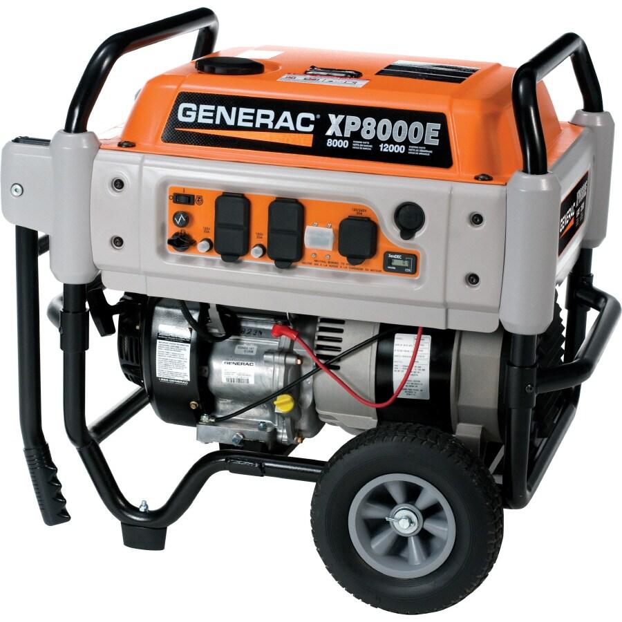 Generac Xp 8,000-Running Watts Portable Generator