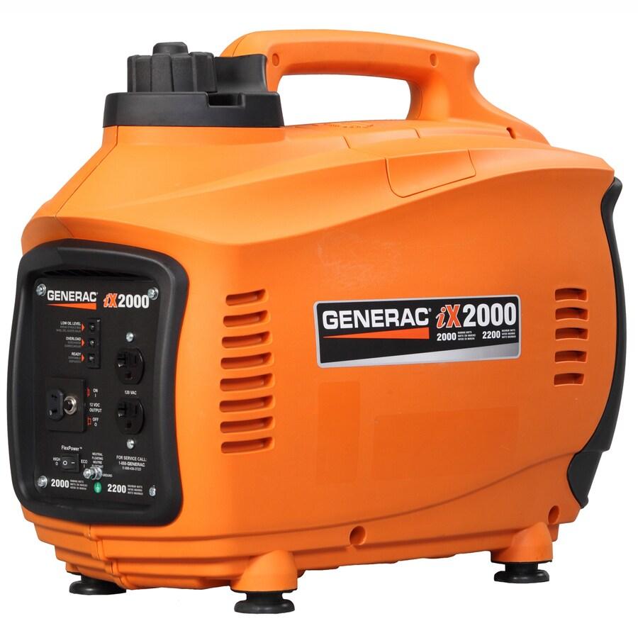 Generac iX 2000-Running Watts Inverter Portable Generator