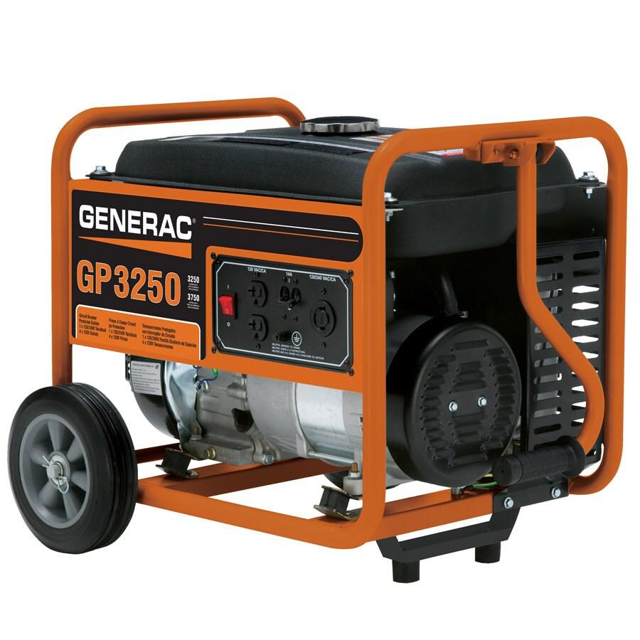 Generac GP 3250-Running Watts Portable Generator
