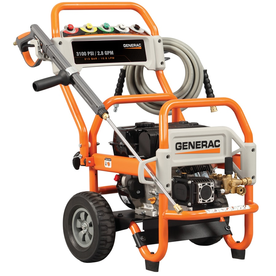 Generac 3100-PSI 2.8-GPM Water Gas Pressure Washer