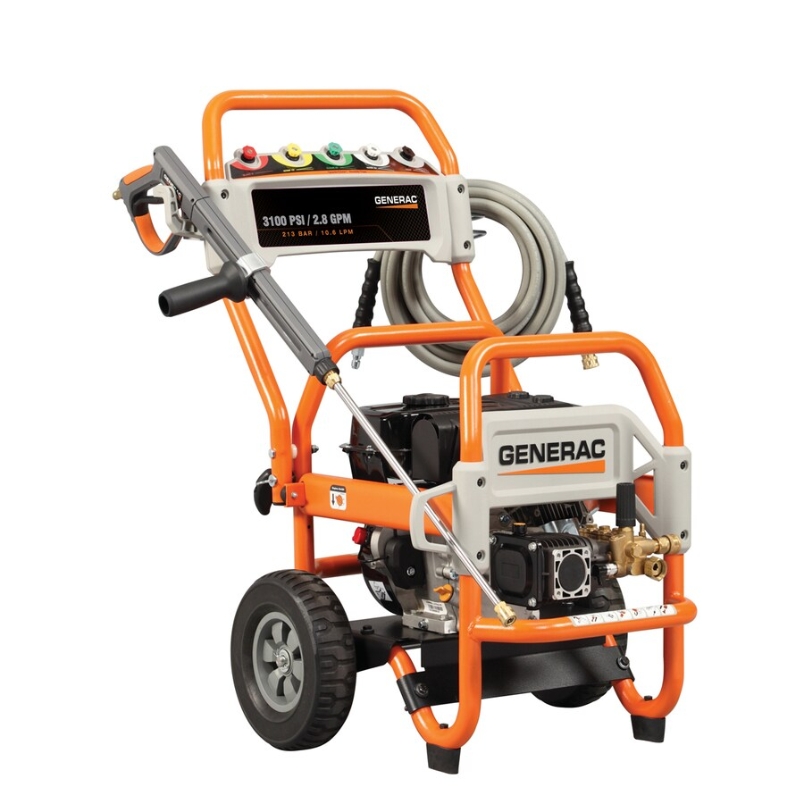 Generac 3100-PSI 2.8-GPM CARB Compliant Gas Pressure Washer with Generac Engine