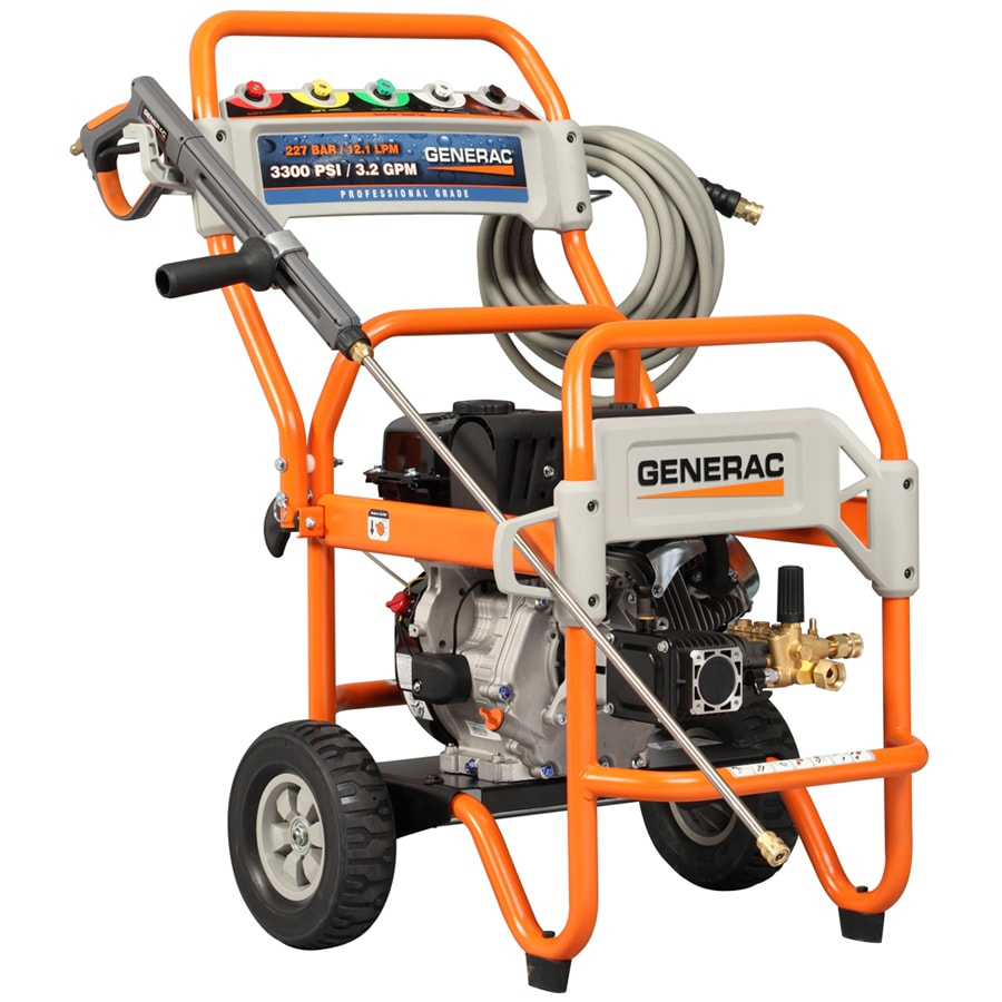 Generac 3300 PSI 3.2 GPM Gas Pressure Washer