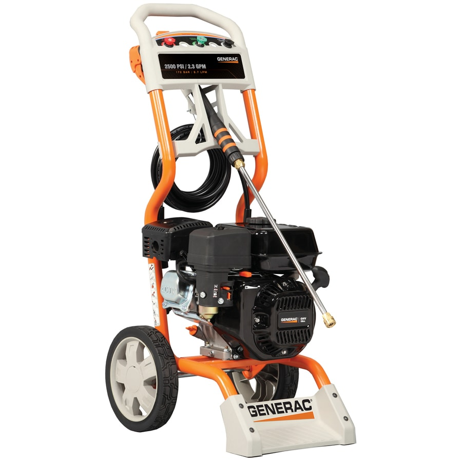 Generac 2500-PSI 2.3-GPM Water Gas Pressure Washer