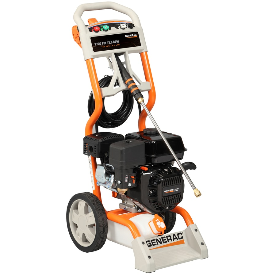 Generac 2700-PSI 2.3-GPM Carb Compliant Water Gas Pressure Washer