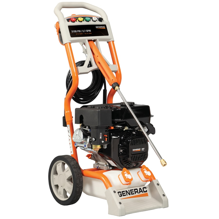 Generac 3100-PSI 2.7-GPM Gas Pressure Washer with Generac Engine