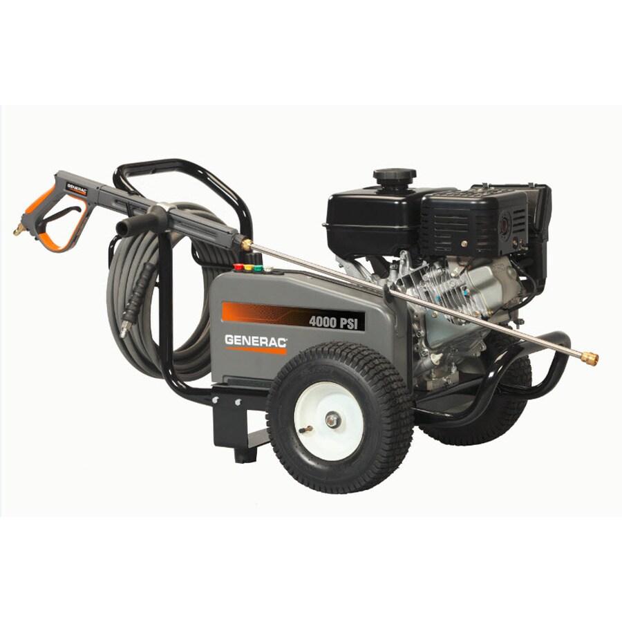 Generac 4000-PSI 3.4-GPM Water Gas Pressure Washer