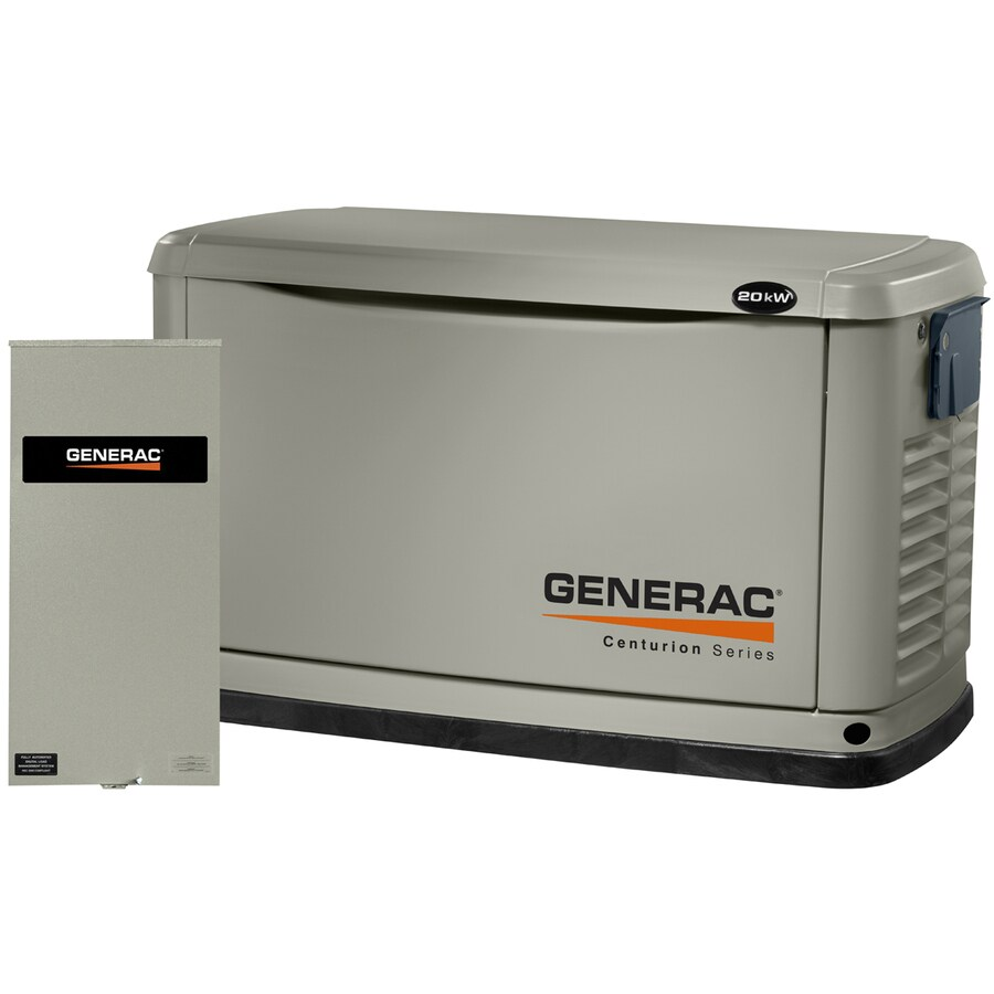 Generac Centurion 20000-Watt (LP)/18000-Watt (NG) Standby Generator with Automatic Transfer Switch