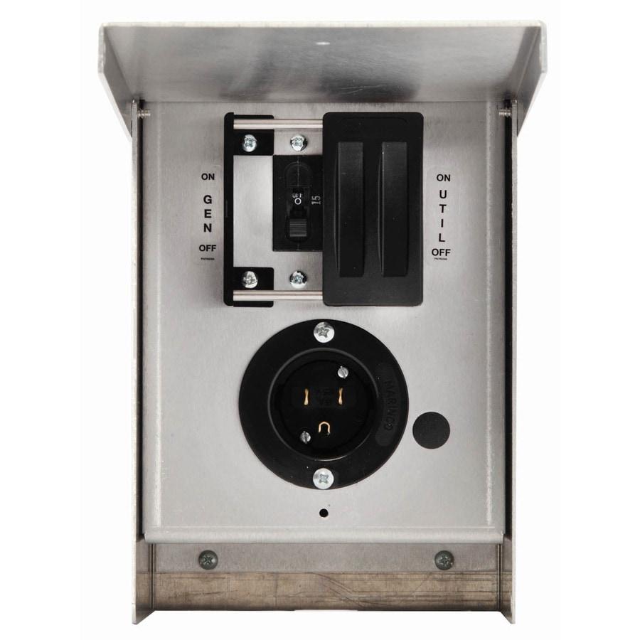 Generac 15-Amp Single Circuit Manual Transfer Switch