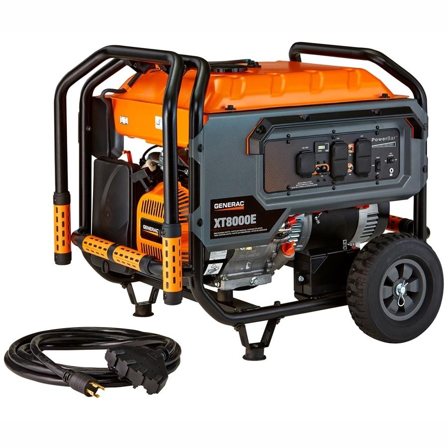 Generac XT 8000-Running Watts Portable Generator