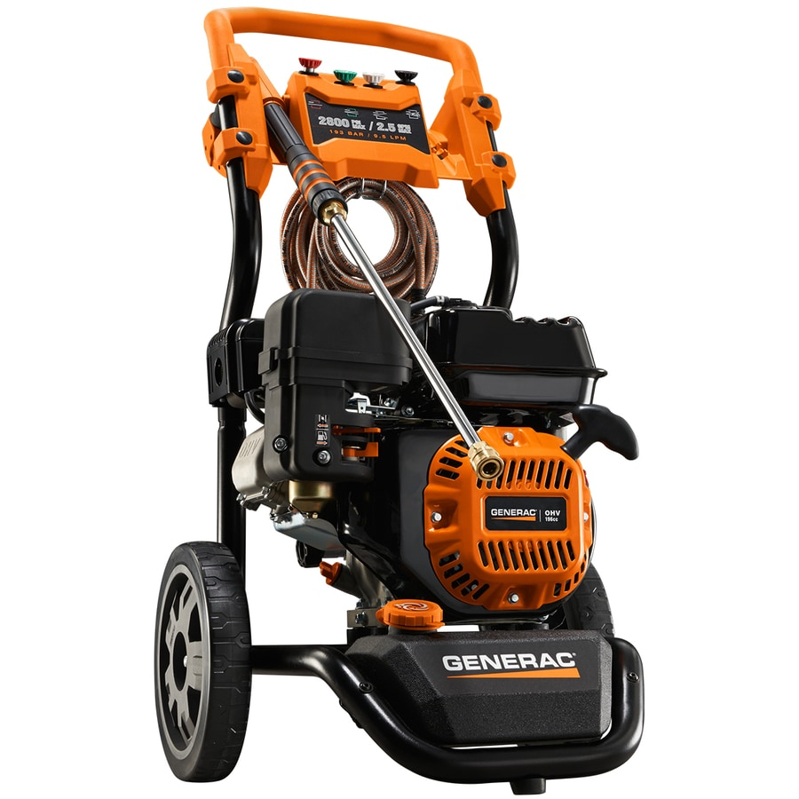 Generac 2800-PSI 2.5-GPM Cold Water Gas Pressure Washer