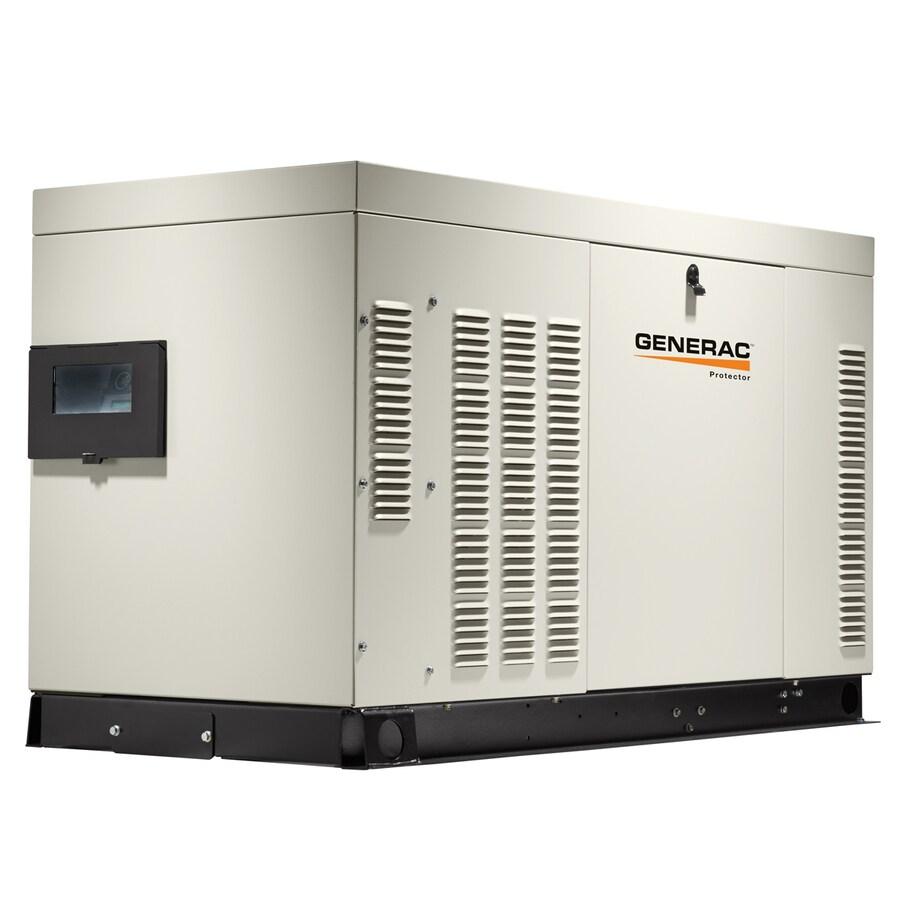 Generac Protector 30000-Watt (LP)/27000-Watt (NG) Standby Generator
