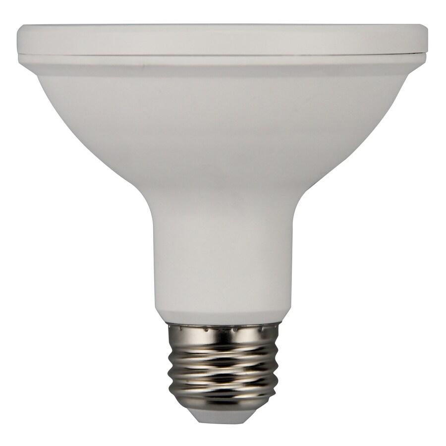 Utilitech 12-Watt (75W Equivalent) 3000K Par30 Shortneck Medium Base (E-26) Dimmable Warm White Indoor/Outdoor LED Bulb
