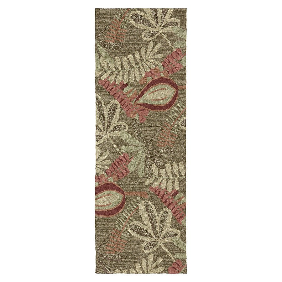 Kaleen Home and Porch Indoor and Outdoor Tufted Runner (Common: 2 x 6; Actual: 24-in W x 72-in L)