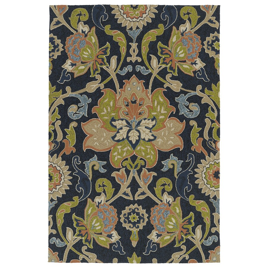 Kaleen Home and Porch Rectangular Indoor and Outdoor Tufted Throw Rug (Common: 3 x 5; Actual: 36-in W x 60-in L)