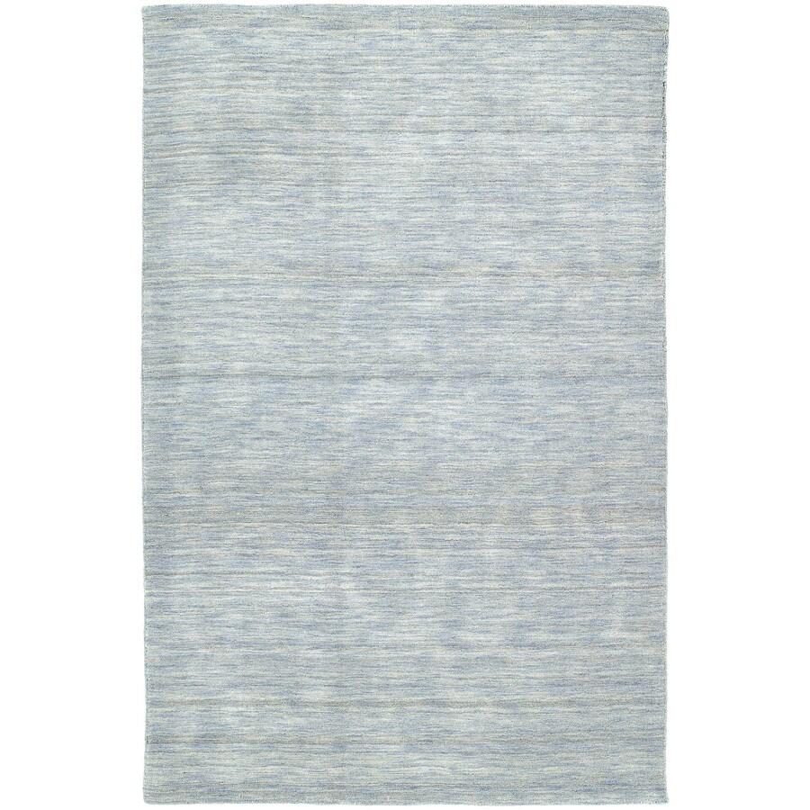 Kaleen Renaissance Azure Rectangular Indoor Tufted Area Rug (Common: 8 x 9; Actual: 90-in W x 108-in L)