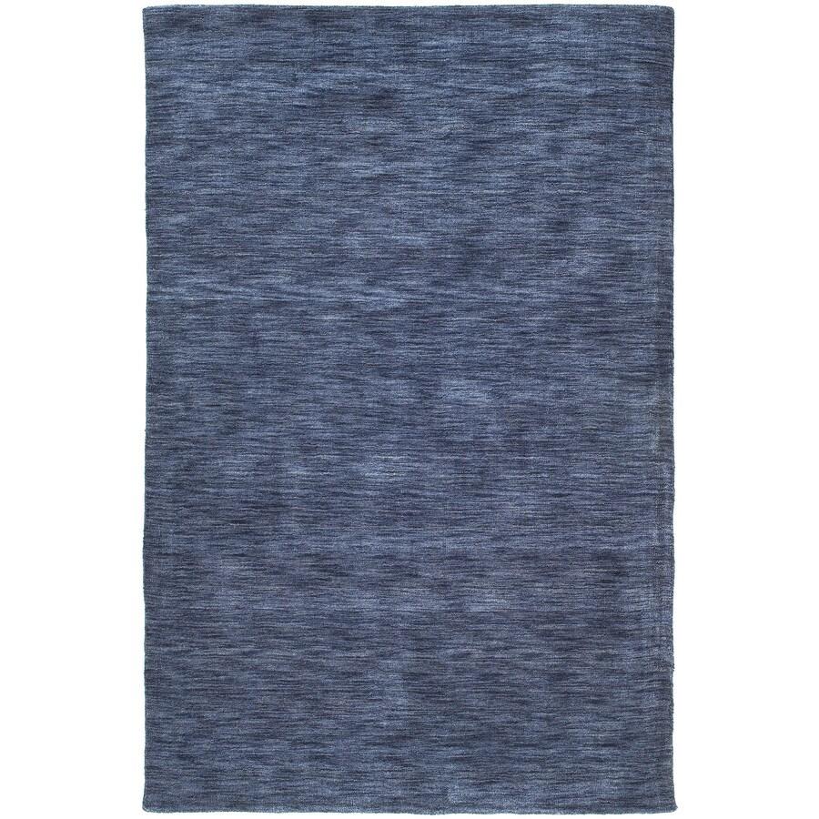 Kaleen Renaissance Blue Rectangular Indoor Tufted Area Rug (Common: 5 x 8; Actual: 60-in W x 90-in L)