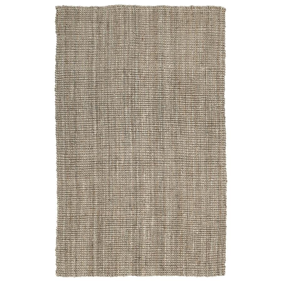 Kaleen Essentials Natural Rectangular Indoor Tufted Area Rug (Common: 5 x 8; Actual: 60-in W x 93-in L)