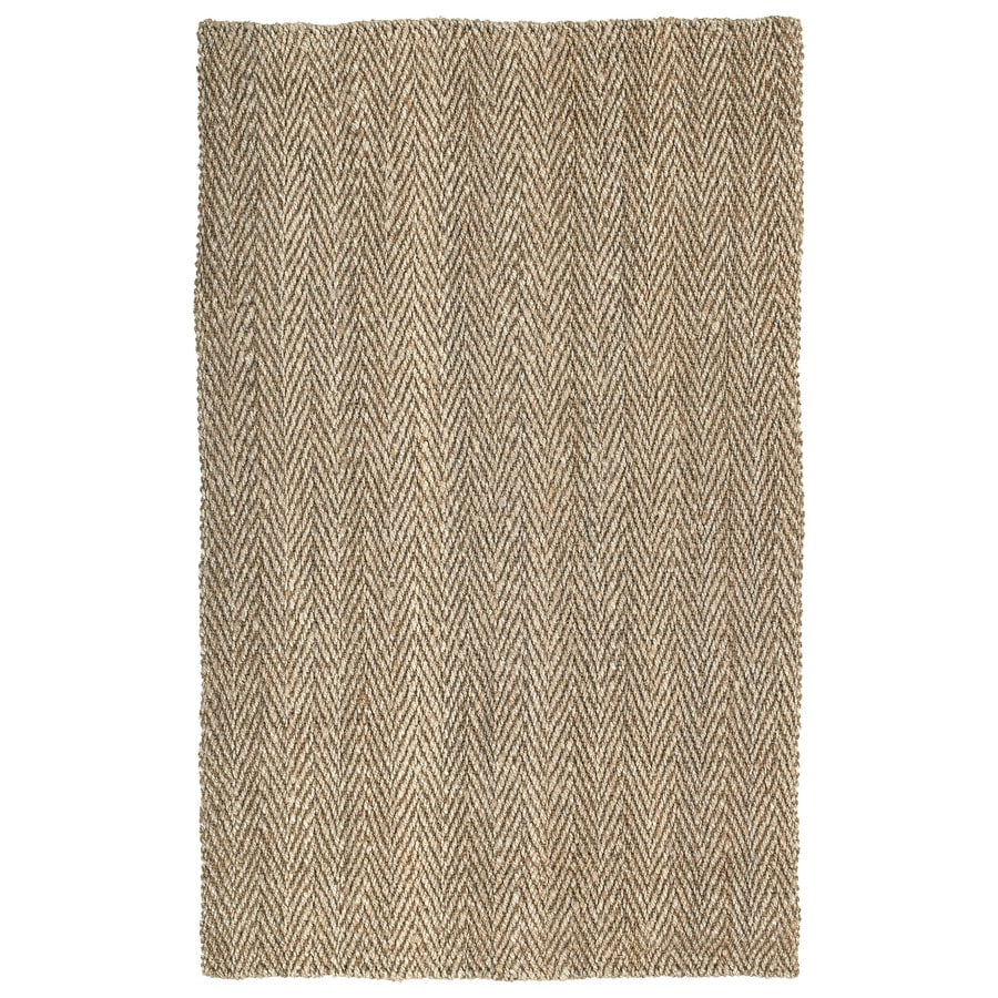 Kaleen Essentials Natural Rectangular Indoor Tufted Area Rug (Common: 4 x 6; Actual: 48-in W x 72-in L)