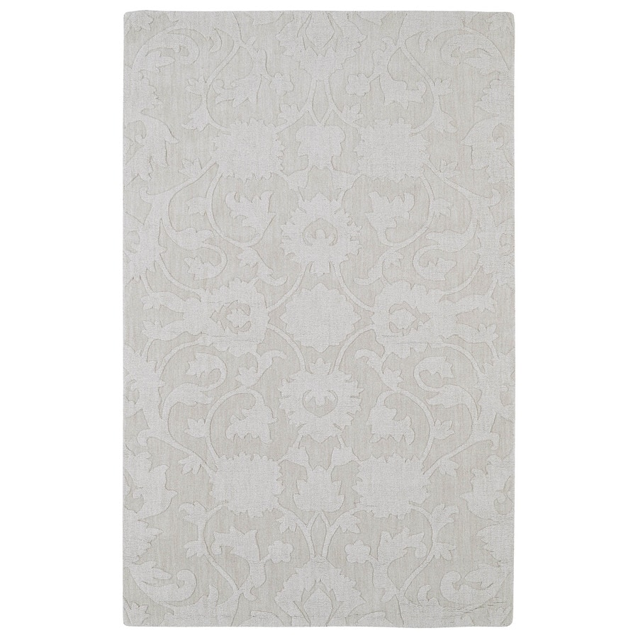 Kaleen Imprints Classic Ivory Rectangular Indoor Tufted Throw Rug (Common: 2 x 3; Actual: 24-in W x 36-in L)