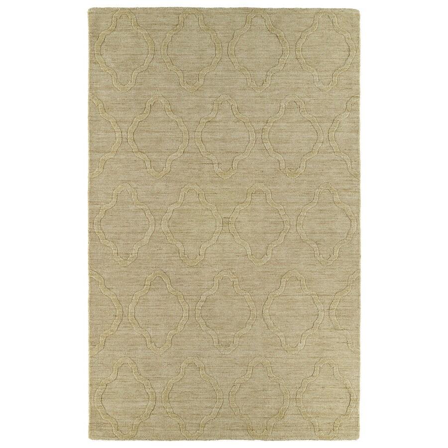 Kaleen Imprints Modern Yellow Rectangular Indoor Tufted Throw Rug (Common: 2 x 3; Actual: 24-in W x 36-in L)