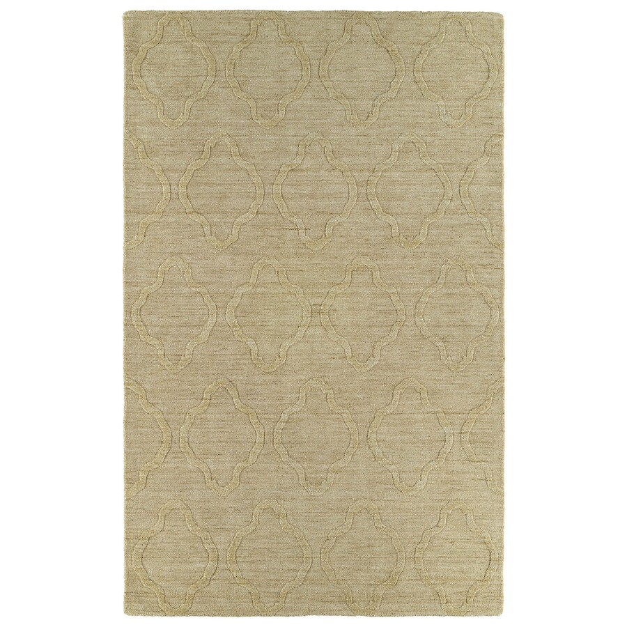 Kaleen Imprints Modern Yellow Rectangular Indoor Tufted Area Rug (Common: 5 x 8; Actual: 60-in W x 96-in L)