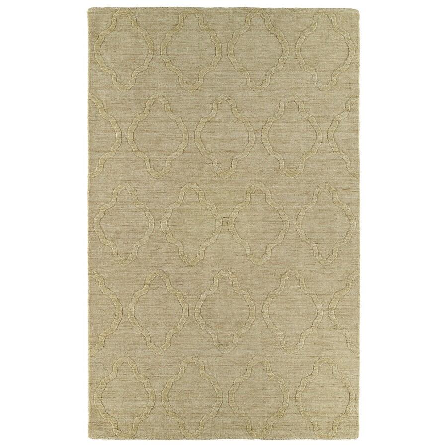Kaleen Imprints Modern Yellow Rectangular Indoor Tufted Area Rug (Common: 8 x 11; Actual: 96-in W x 132-in L)