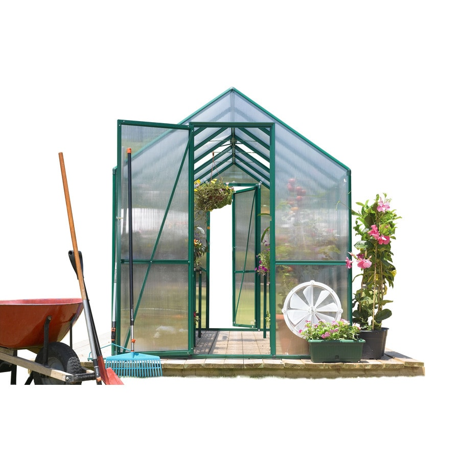 STC 12-ft L x 6-ft W x 7.8-ft H Greenhouse