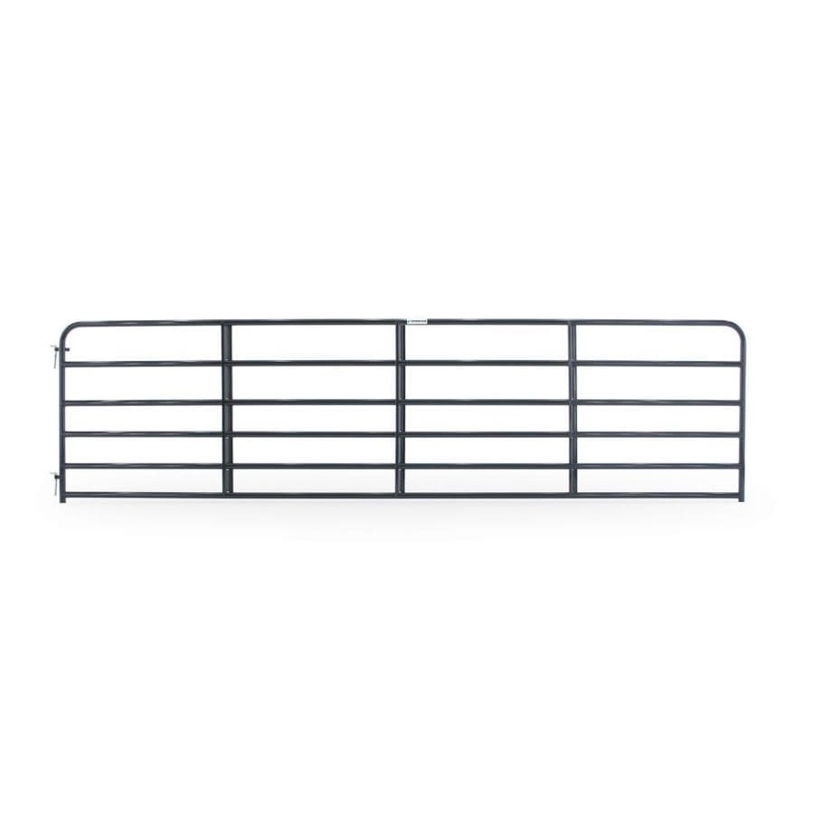 Tarter Blue E-Coat Metal Steel (Not Wood) Farm Fence Gate (Common: 16-ft x 4.16-ft; Actual: 15.75-ft x 4.16 Feet)