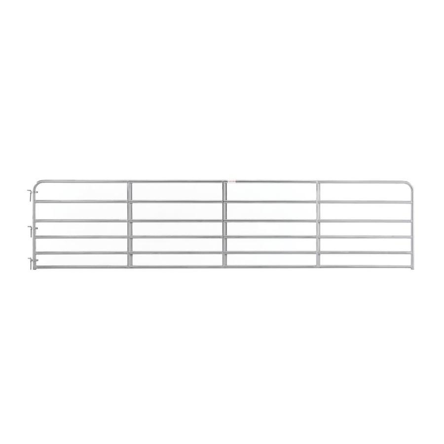 Tarter Galvanized Metal Steel (Not Wood) Farm Fence Gate (Common: 18-ft x 4.16-ft; Actual: 17.75-ft x 4.16 Feet)