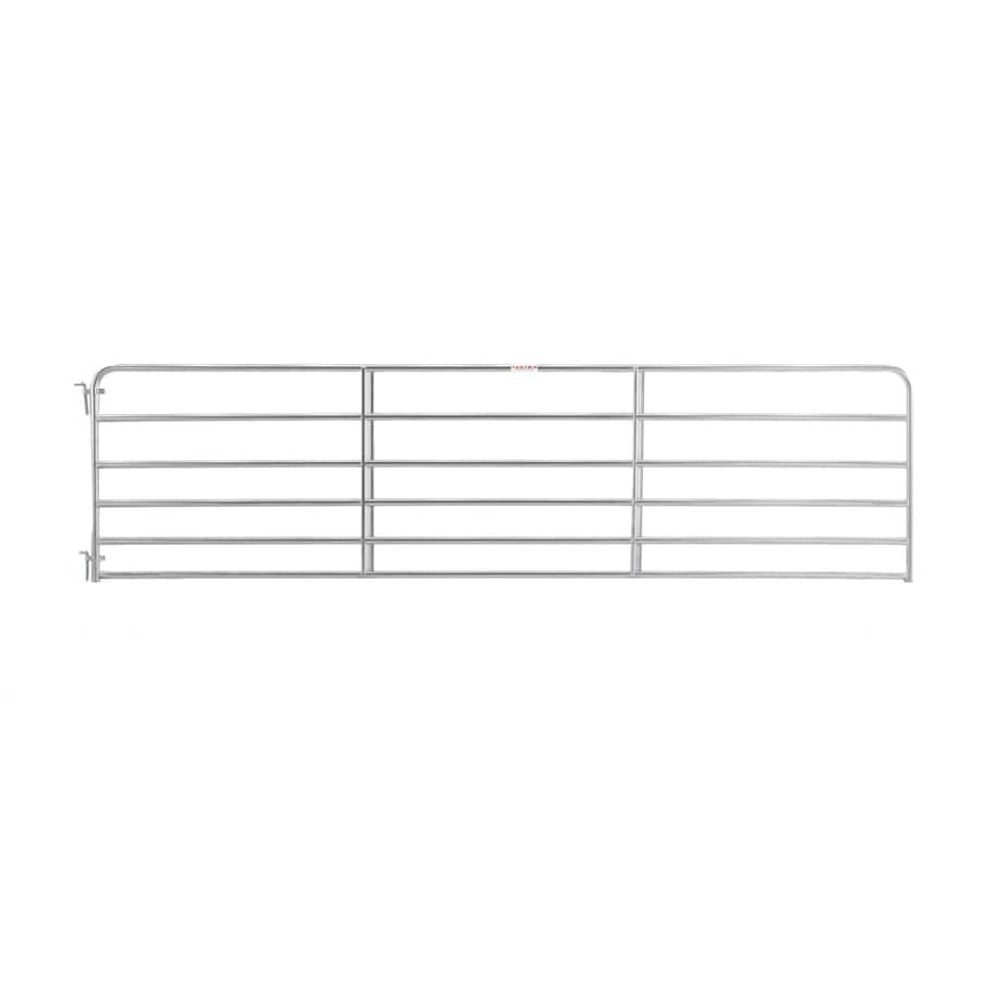 Tarter Galvanized Metal Steel (Not Wood) Farm Fence Gate (Common: 16-ft x 4.16-ft; Actual: 15.75-ft x 4.16 Feet)