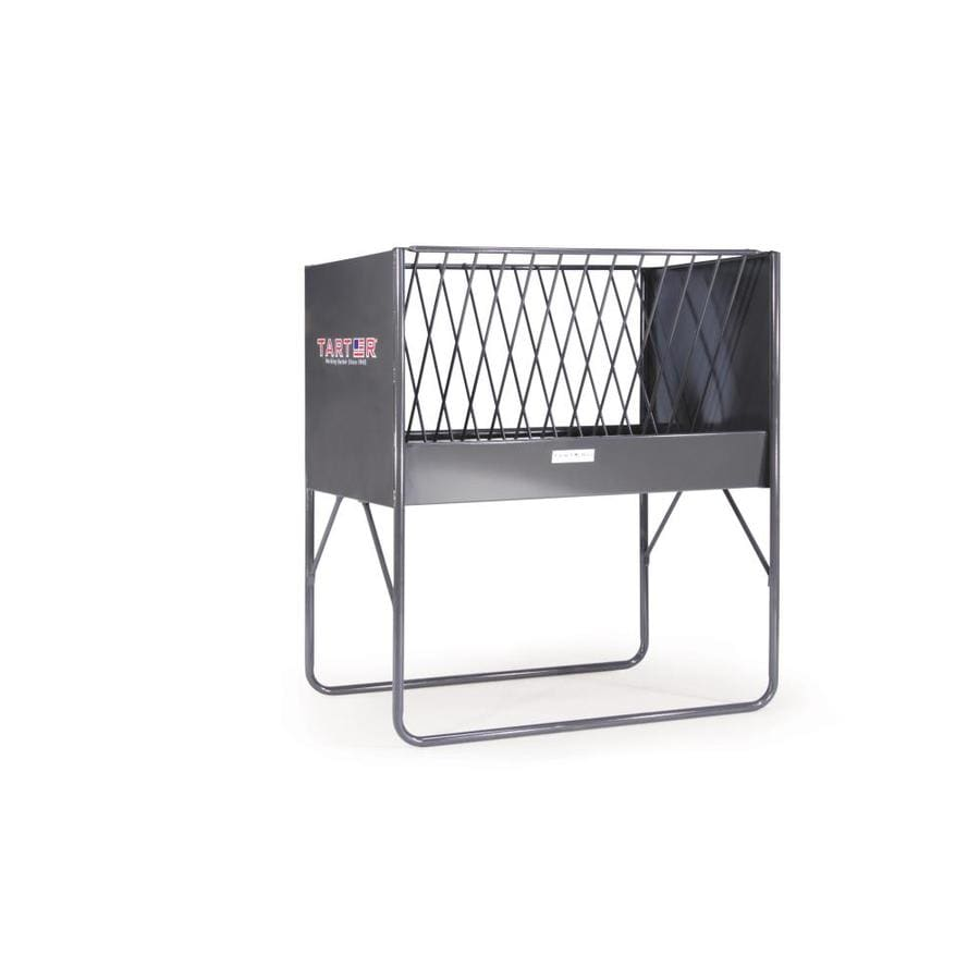 Tarter 100-lbs Powder Coated Horse Feeder