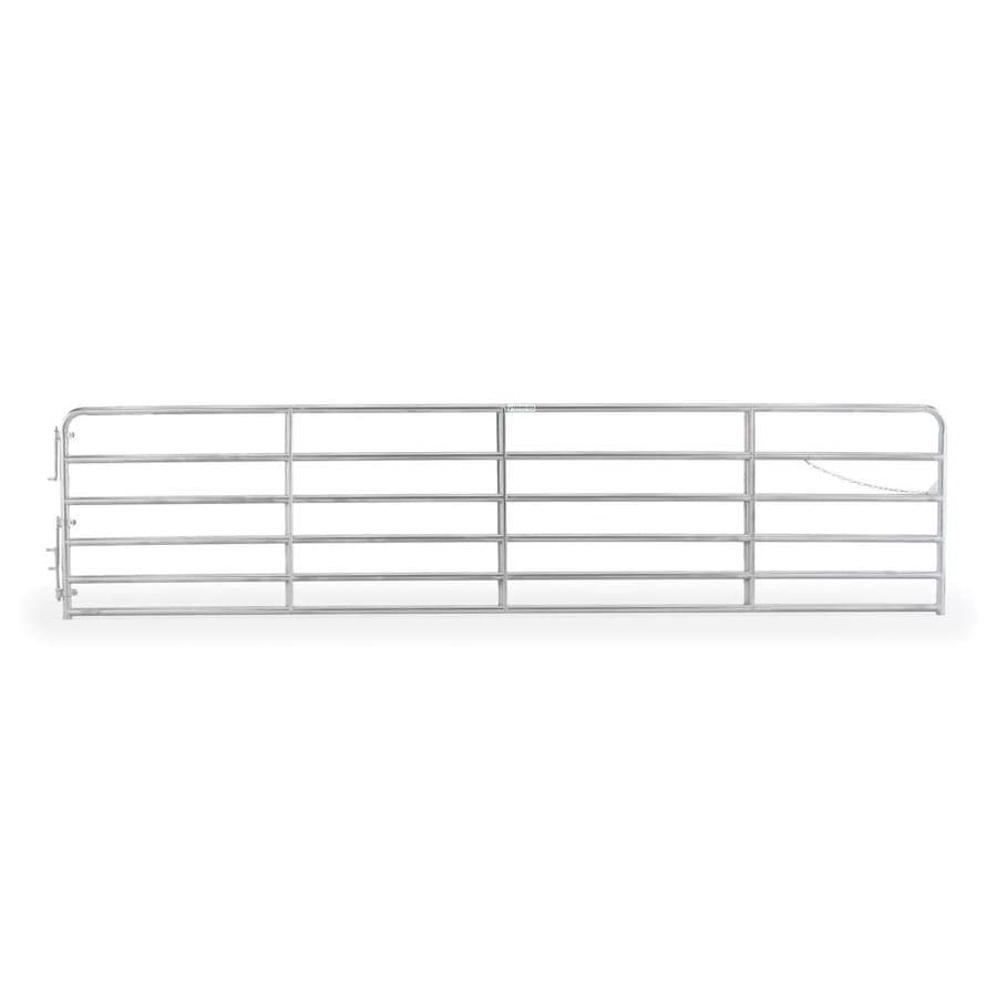 Tarter Galvanized Metal Steel (Not Wood) Farm Fence Gate (Common: 18-ft x 4.33-ft; Actual: 17.75-ft x 4.33 Feet)
