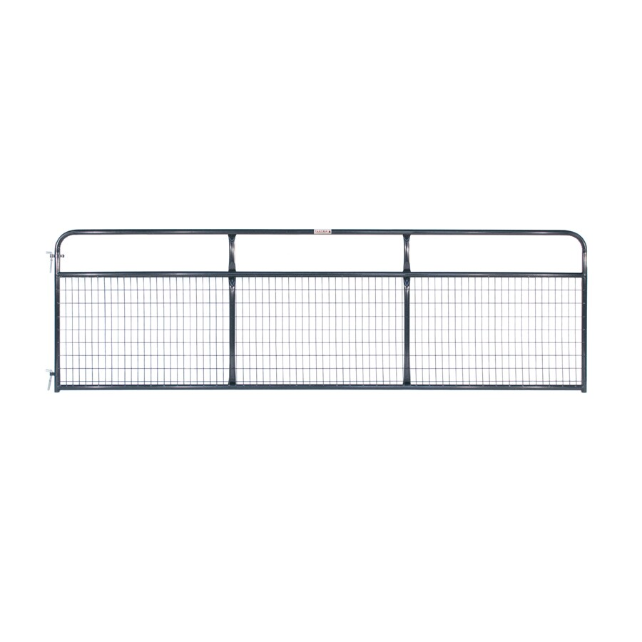 Tarter Blue E-Coat Metal Steel (Not Wood) Farm Fence Gate (Common: 14-ft x 4.16-ft; Actual: 13.75-ft x 4.16 Feet)