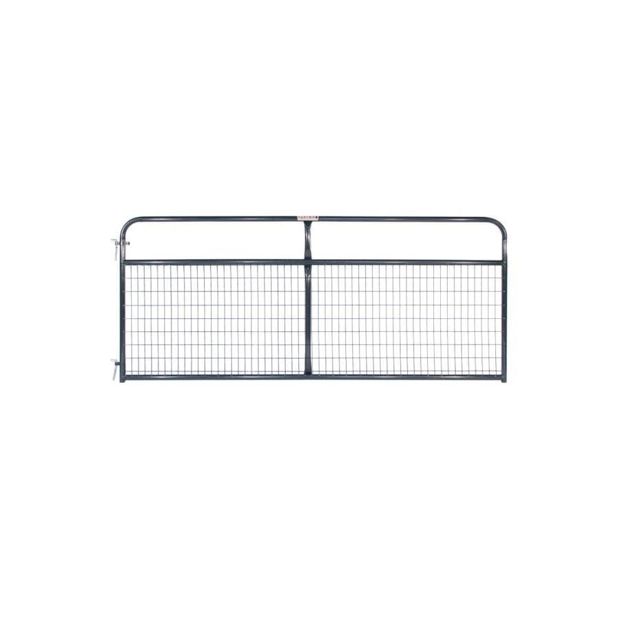 Tarter Blue E-Coat Metal Steel (Not Wood) Farm Fence Gate (Common: 10-ft x 4.16-ft; Actual: 9.75-ft x 4.16 Feet)