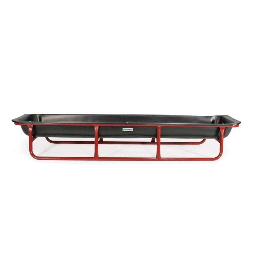 Tarter 10-ft 1-Piece Bunk Feeder Red